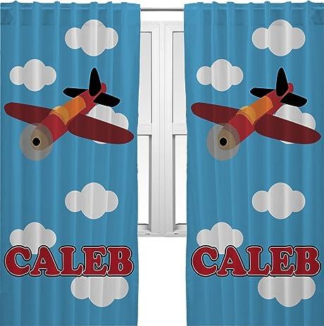 Airplane Curtains   40u0026quot;x84u0026quot; Panels   Unlined (2 Panels Per Set)
