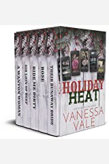 Holiday Heat Boxed Set: Five First-In-Series Cowboy Romances Kindle Edition