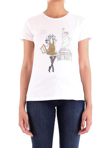 sale retailer b0029 b8713 PATRIZIA PEPE - T-Shirt con Stampa Personalizzata Donna ...