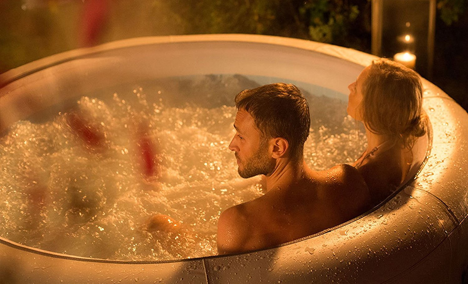 Lay-Z-Spa Vegas Hot Tub 4-6 Person Airjet Inflatable Spa