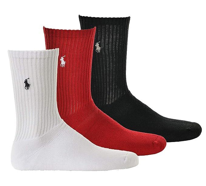 sports shoes 19e8d 86557 Polo Ralph Lauren Calzini Uomo, Confezione da 3 - Calzini da ...