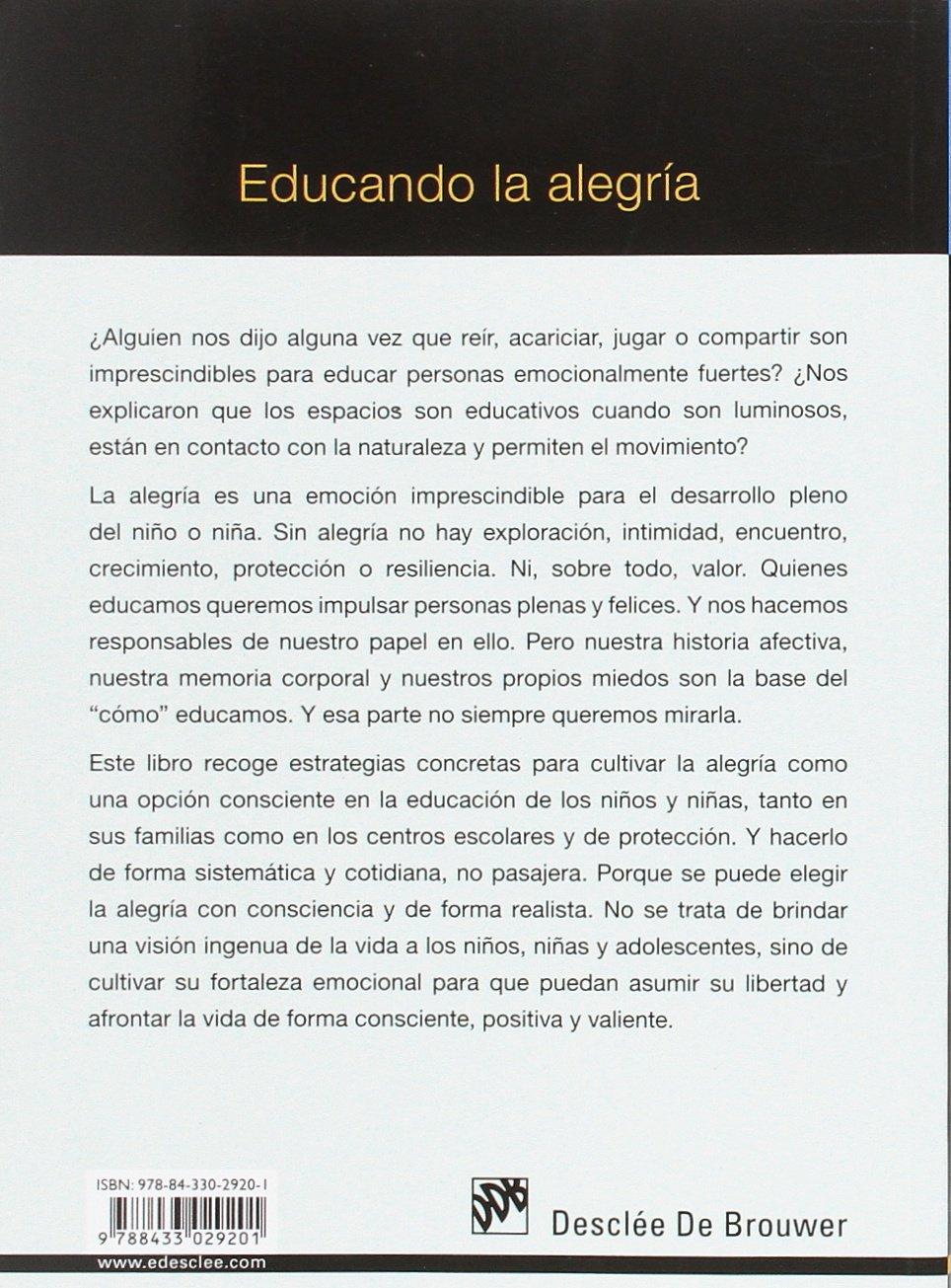 Educando la alegria: 0 (AMAE): Amazon.es: Pepa Horno Goicoechea ...