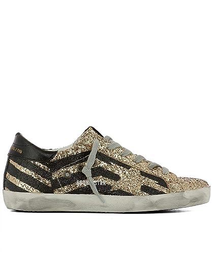 Sneakers Goose Glitzer Damen Schwarzgold Golden G33ws590h70 derxoCWQB