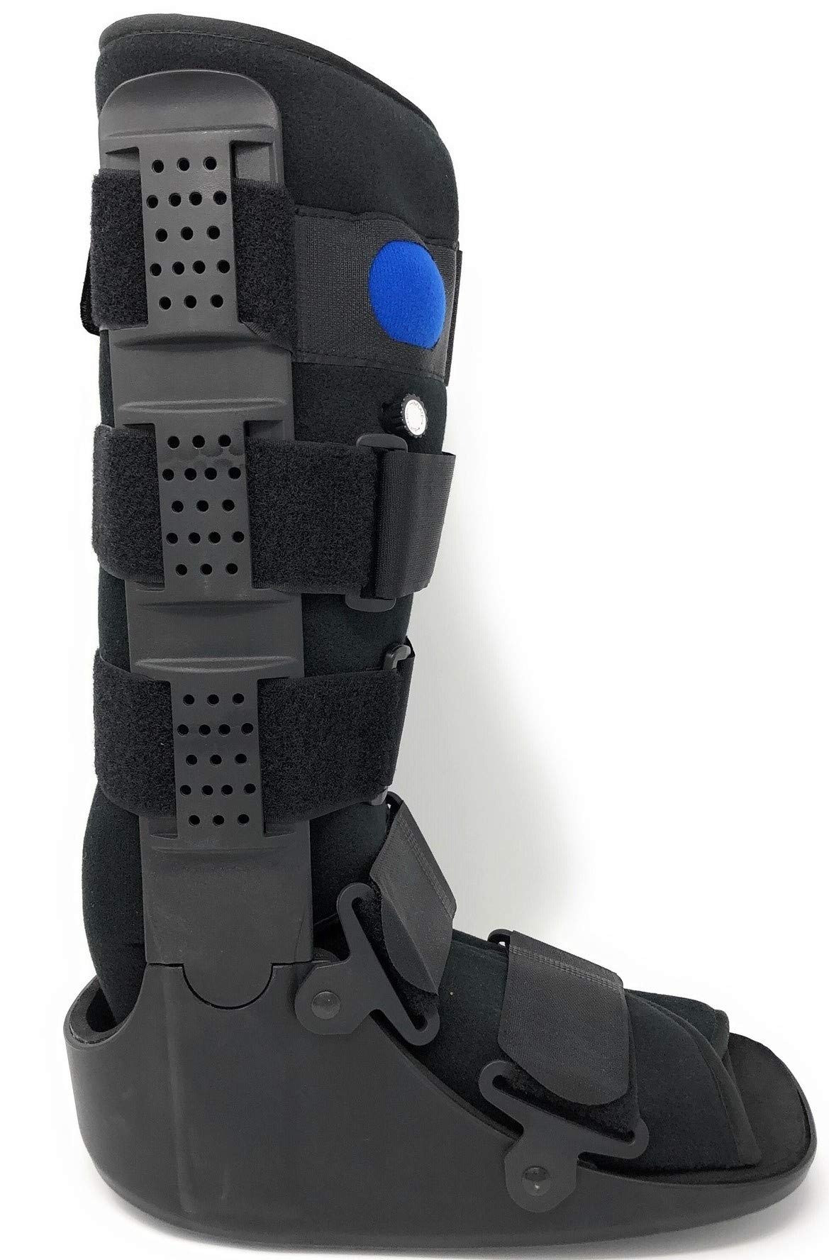Superior Braces High Top, Low Profile Air Pump CAM Medical Orthopedic Walker Boot for Ankle & Foot Injuries (X-Small)