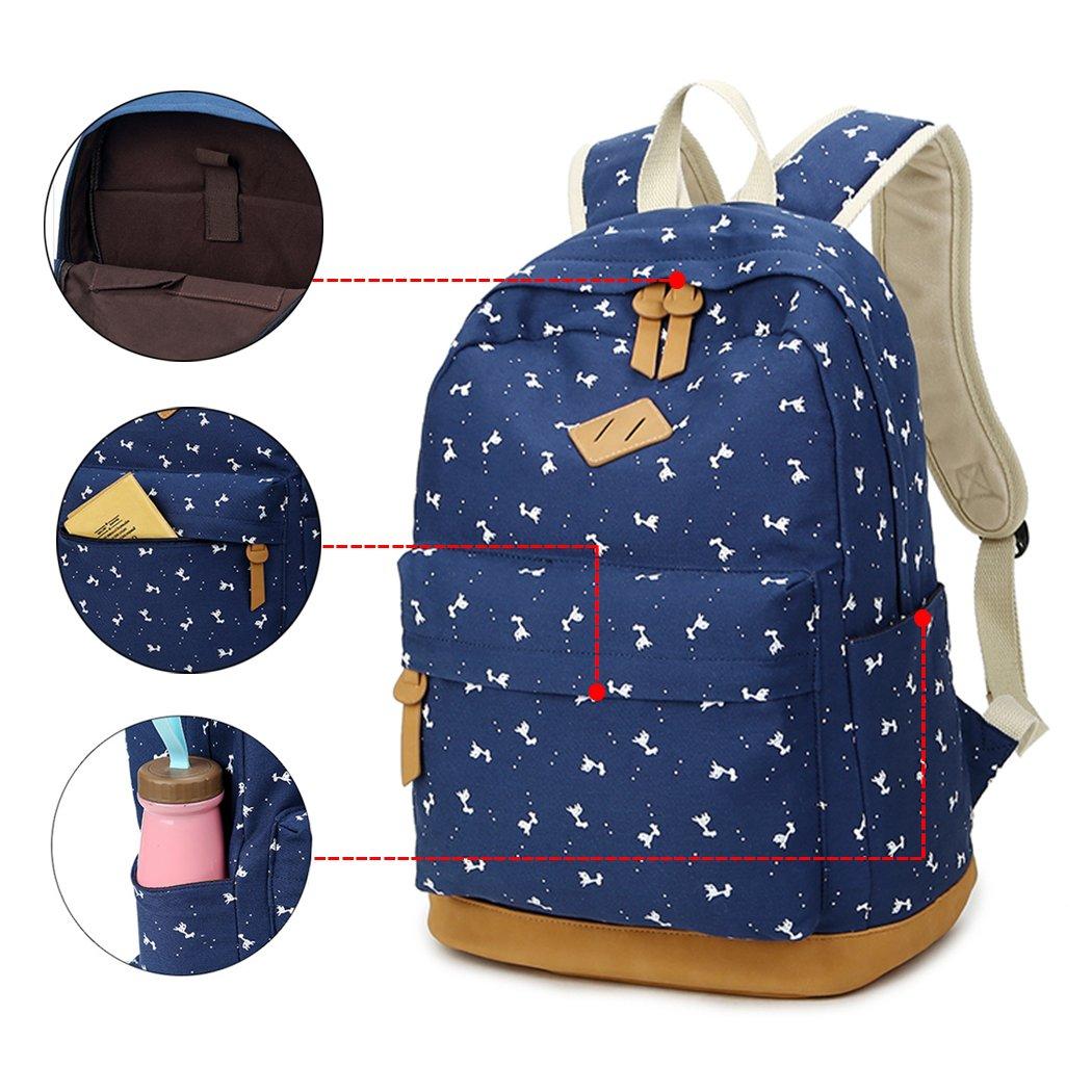 YoungSoul Mochilas escolares lona niños y niñas mochilas colegio ...