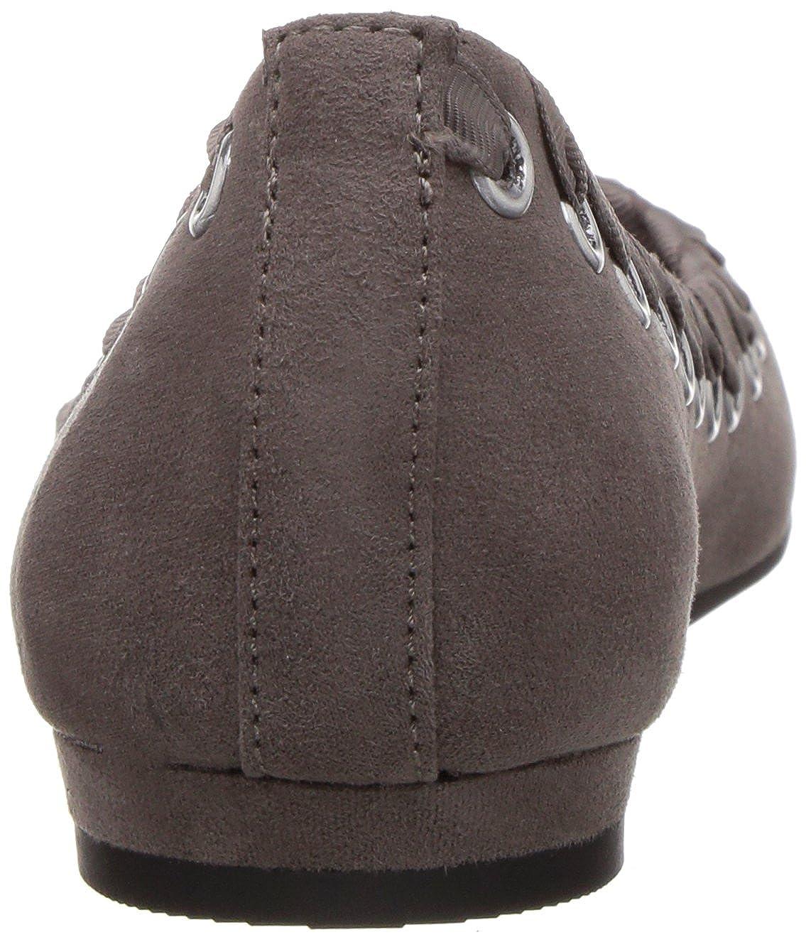 Fergalicious Frauen  Flache Schuhe  Frauen Grau badfb3