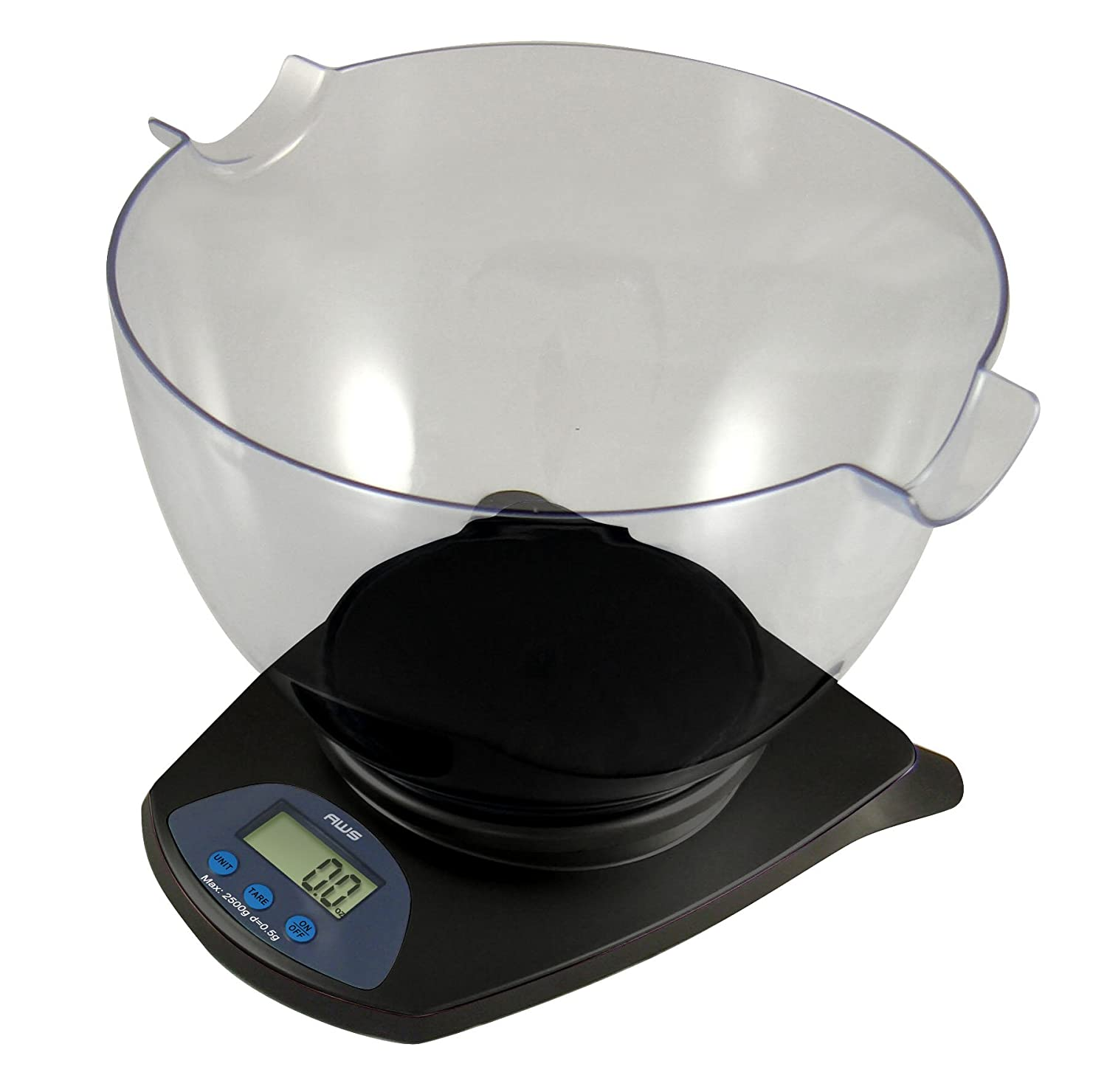 Amazon.com: American Weigh Scales HB 11 Digital Kitchen Scale With Large  Removable Weighing Bowl: Kitchen U0026 Dining