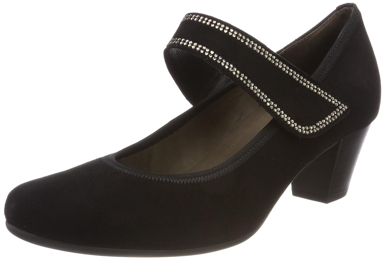Gabor Shoes Gabor Basic, Zapatos de Tacón para Mujer 38 EU|Negro (Schwarz Diamond)