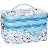 WWW Toiletry Travel Bag Makeup Bag Travel Cosmetic Bag for Women, Travel Jewelry Organizer,Portable Multifunctional Makeup Ca