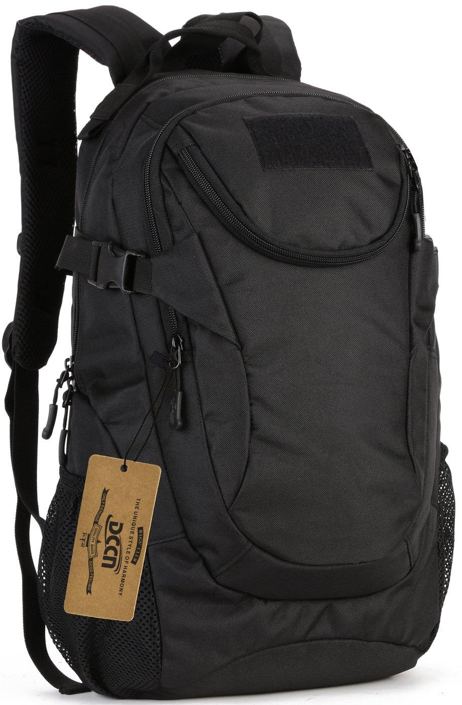 DCCN 25L T/áctica Mochila al Aire Libre Mochila de Acampada Ciclismo Senderismo Deporte Backpack para Hombre Mujer