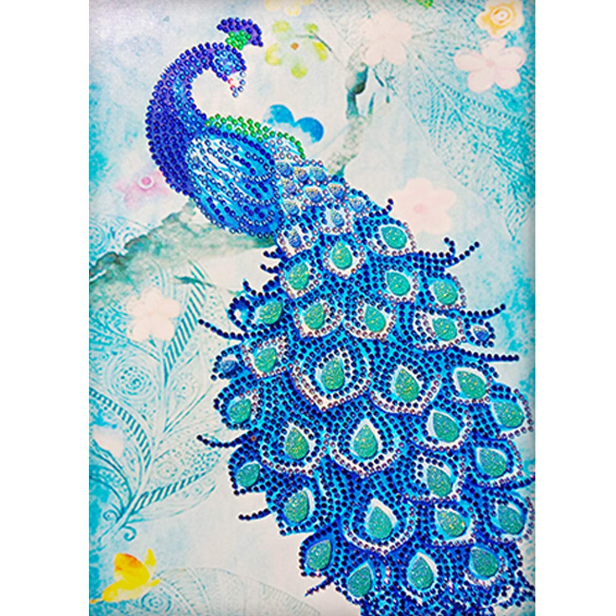 Full Round Drill 5D Diamond Painting Crafts Stitch Home DIY Xmas Christmas Wall