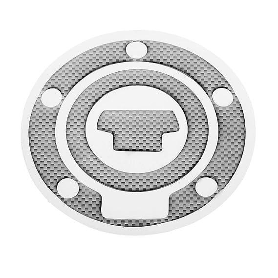 Mtsooning Fuel Gas Cap Cover Pad Sticker For Yamaha R1 R6 FZ-1 FJR1300 FZ6 FZ8 FZ1 XJ6