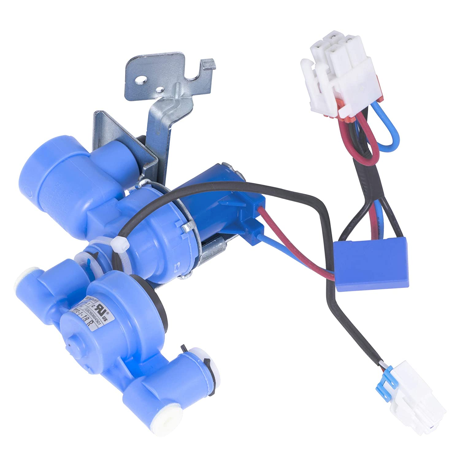 Replaces 5221JA2011J 5221JA2011P Ultra Durable AJU72992601 Refrigerator Water Inlet Valve Replacement Part by Blue Stars Exact Fit for LG Refrigerators
