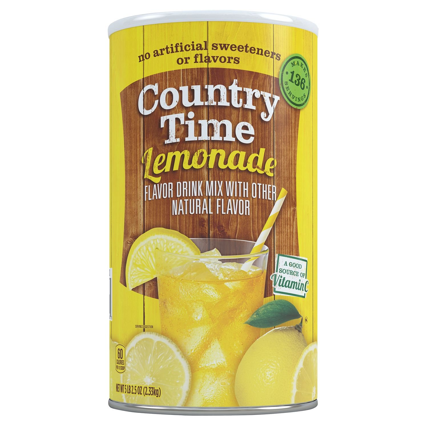Country Time Lemonade - makes 34 quarts. (pack of 4) A1