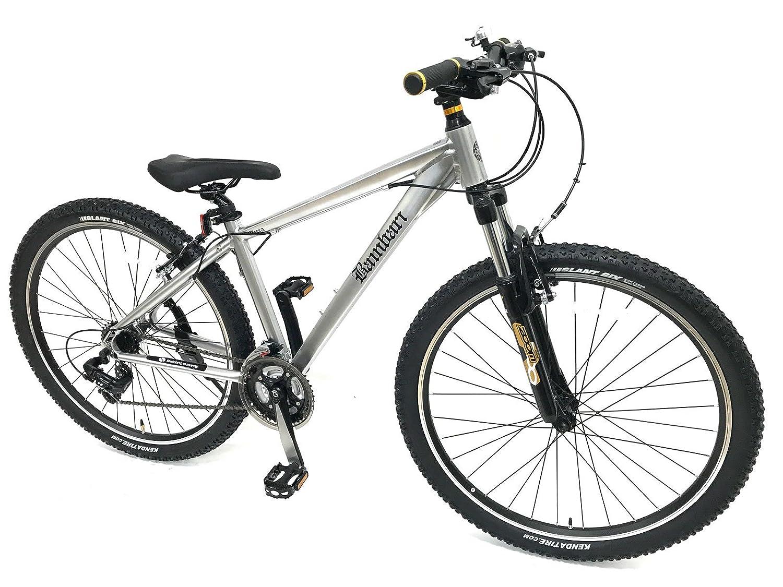 バンバリ 27.5インチ スポーツ サイクリング マウンテンバイク クロスバイク 自転車 通勤 通学 B0752H5CZSポリッシュ 27.5インチ