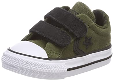 683d63665e1f8 Converse Unisex Kids  Lifestyle Star Player Ev 2v Ox Suede Fitness Shoes