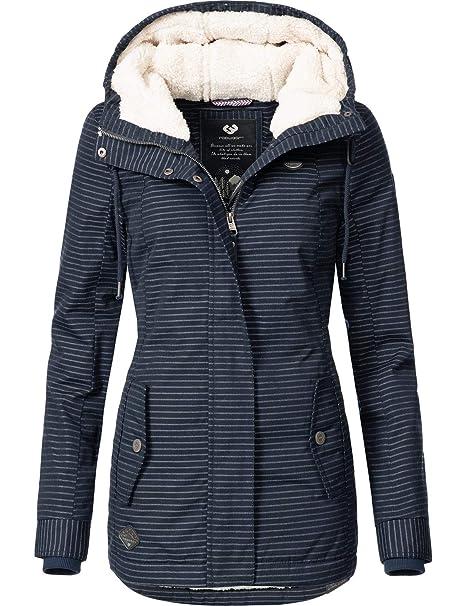 low priced 995f9 de57d Ragwear Damen Jacke Winterjacke YM-Monade (vegan hergestellt) 5 Farben XS-XL