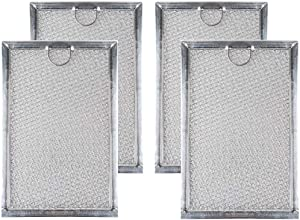 Toolsco 4PCS Reliable WB06X10309 Microwave Oven Grease Filters. Replacement Part Fits for GE Microwaves and Replaces WB06X10654, 5230W1A012B, WB06X10359