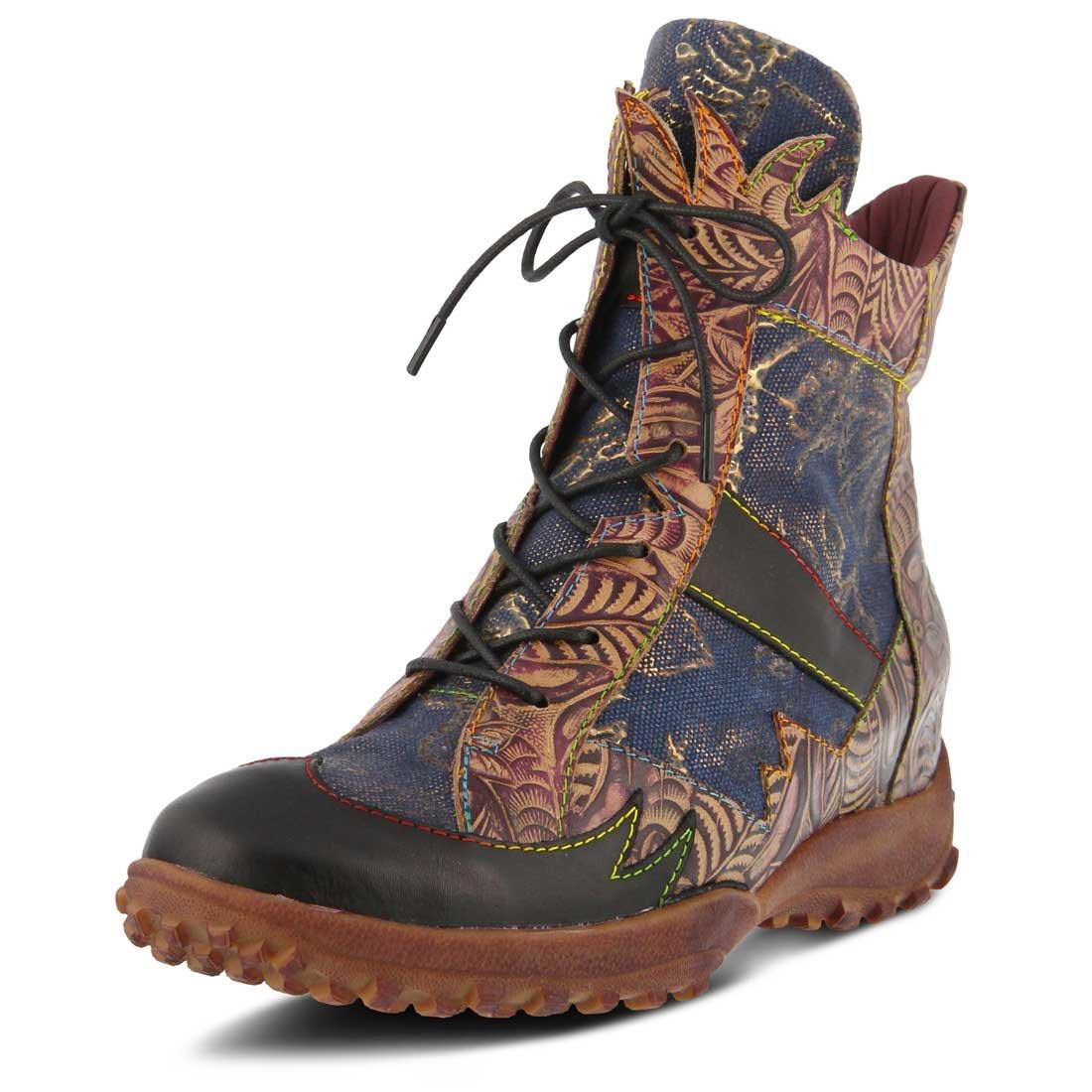 L`Artiste Womens Ileana Boot B074HF6W6W 41 M EU Black Multi