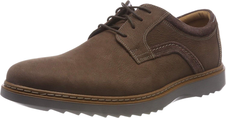 Clarks Un Geo Lace, Zapatos de Cordones Derby para Hombre