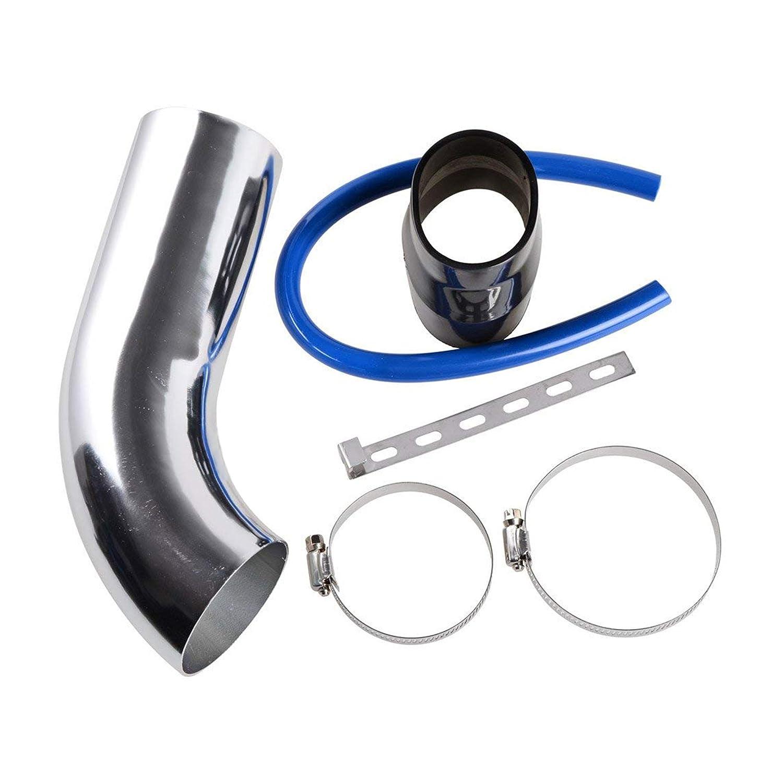 Tubo de Intercooler Radiador Di/ámetro 63mm Modelo E321B 45 Grados MODAUTO Tubo de Aluminio para Filtro de Aire Codo de Alumnio