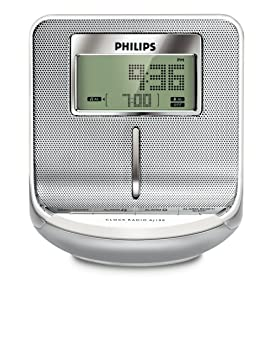 Philips AJ100/12 - Radio (Reloj, Digital, FM, 0,08