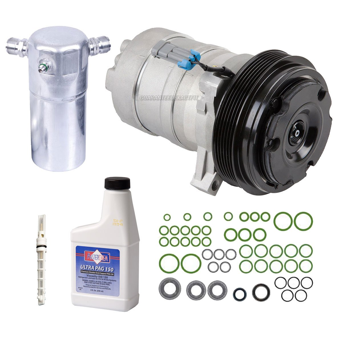 AC Compressor w/A/C Repair Kit For Buick Park Avenue & Oldsmobile 98 - BuyAutoParts 60-81266RK New