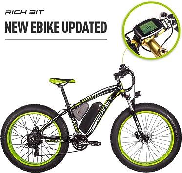 Eléctricas Bicicletas TP022 1000W Motor 48V 17Ah Batería de Litio ...