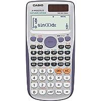 CASIO FX-991DE Plus wissenschaftlicher Taschenrechner / Schulrechner mit 580 Funktionen und natürlichem Display, Solar/Batterie