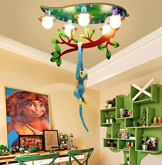 Chuen Lung Lámpara de Techo para niños, Tema de Animales creativos ...
