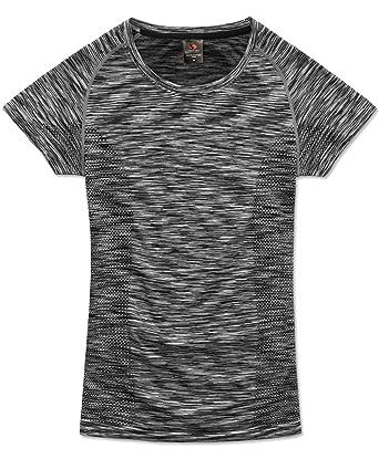 Stedman Sport-Shirt für Damen, Zweifarbiges Jacquard-Muster, Raglan-Ärmel   Amazon.de  Bekleidung 72f3eb51c4