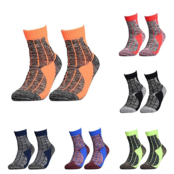 Amazon.com: TreeMart 1 Pair Anti-Slip Winter Thermal Ski Socks Men Cotton Spandex Sport Snowboard Socks Wearable Thermosocks calcetines de Ciclismo: Kitchen ...