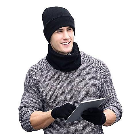 879cdc936e9 Ensemble écharpe bonnet gants homme - Idée pour s habiller