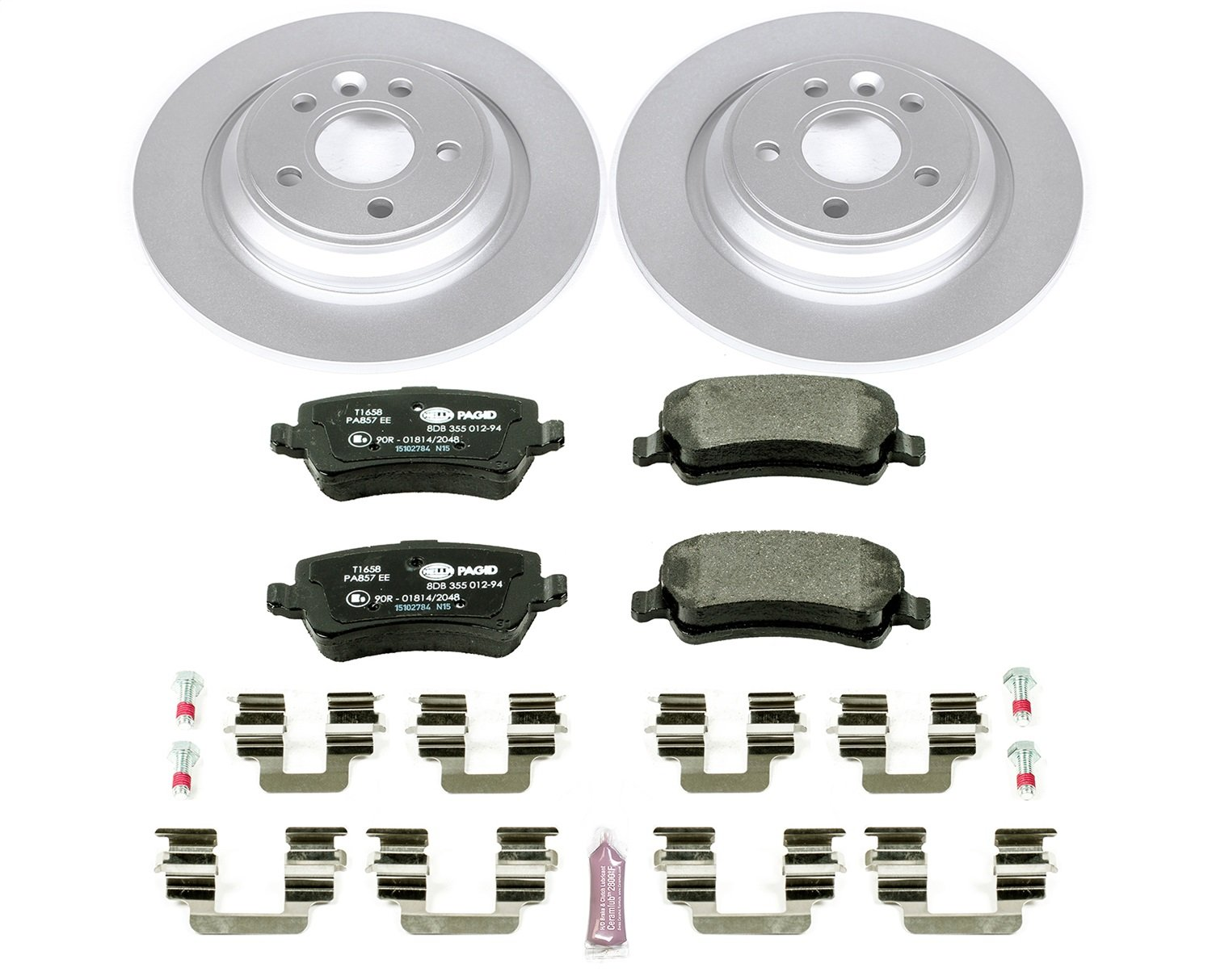 Power Stop ESK4704 Rear Euro-Stop Brake Kit