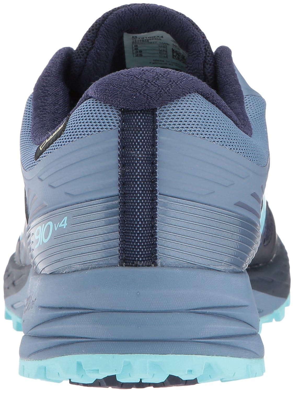 New Balance Women's 910v4 Gore-Tex Running Shoe B01NA8UZ2L 8 B(M) US|Pigment/Porcelain Blue