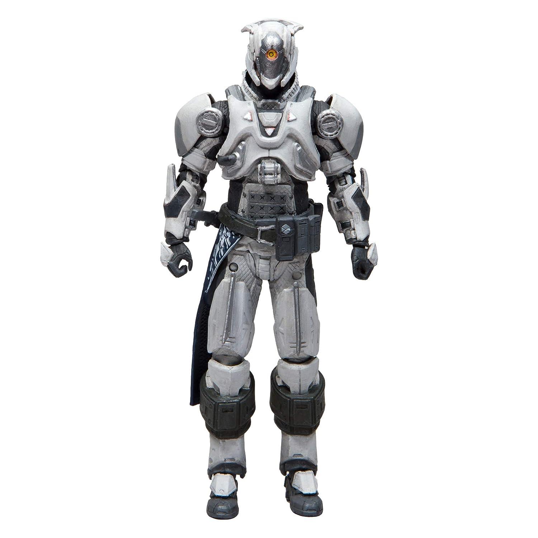 McFarlane Toys Destiny Legacy Vault of Glass Titan Chatter White Shader Action Figure B07KL4BNNW