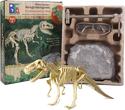 Fun Excavation Dig it Out Kit Dinosaur Fossil  FREE DELIVERY Kids Toys