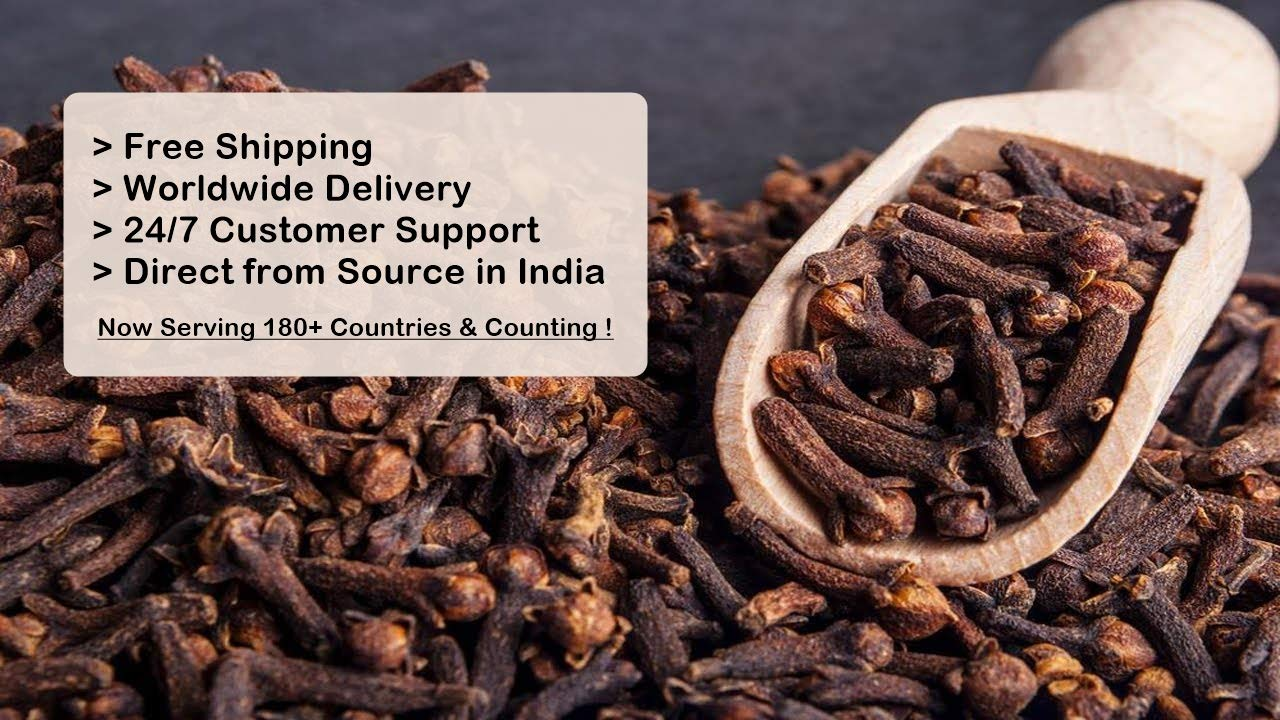 Nobility Whole Cloves - Standard Indian Clove - Size : 250 Gram / 8.81 Oz - Direct from Source in India by NOBILITY (Image #2)