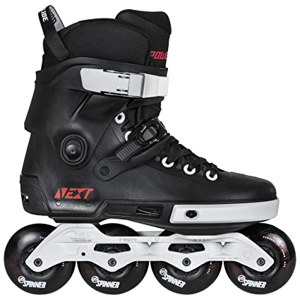 Amazon com : Powerslide Next 80 Unisex Skates - Black : Sports