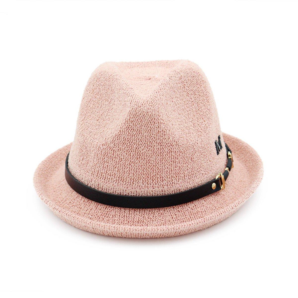 Signore Stile Britannico Berretti Cintura Curling Cappello Di Jazz Elegante  Cappello Viaggi Di Piacere,Beige-M(56-58cm): Amazon.it: Abbigliamento