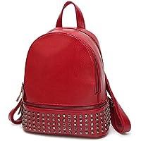 Mac Lawrence Women's Backpack Handbag (Red)