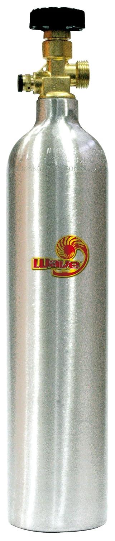 Wave A6076422 Techno Co2 Alluminium Zylinder, 800 g