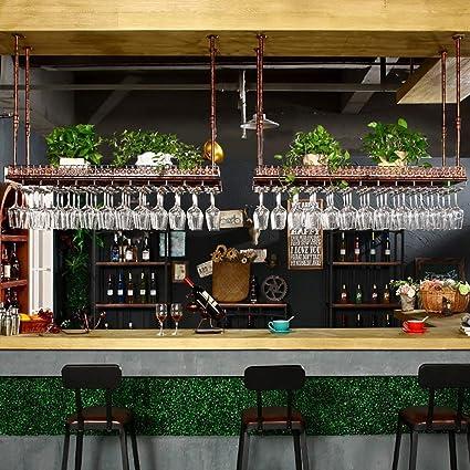 IG Muebles para el hogar Estante para Copas de Vino, Repisa portavasos para vinos, Estante para ...