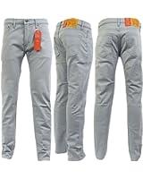 Levi Strauss Griffin Grey 511 Slim Leg Jean - 22-43