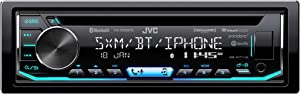 JVC KD-T900BTS CD Receiver Featuring Bluetooth/USB/SiriusXM/Pandora/iHeartRadio/Spotify/ 13-Band EQ