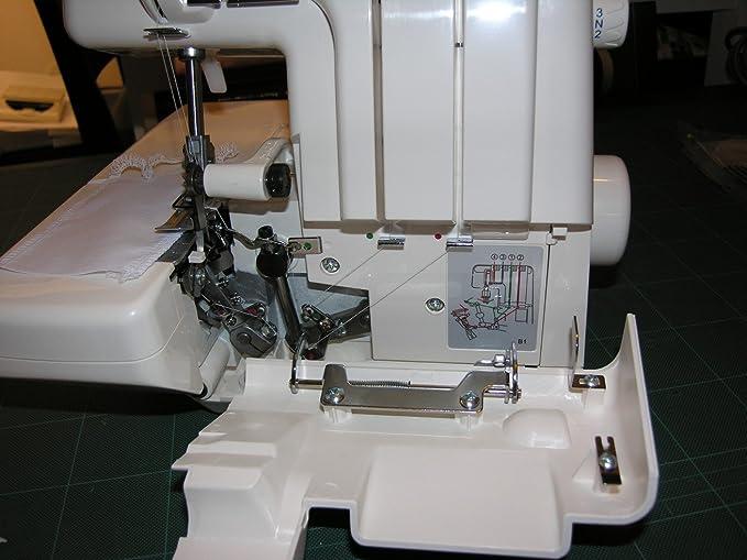 Máquina de coser Overlock Sewmaq SW1333, roll dobladillo, diferencial, interruptor de seguridad: Amazon.es: Hogar