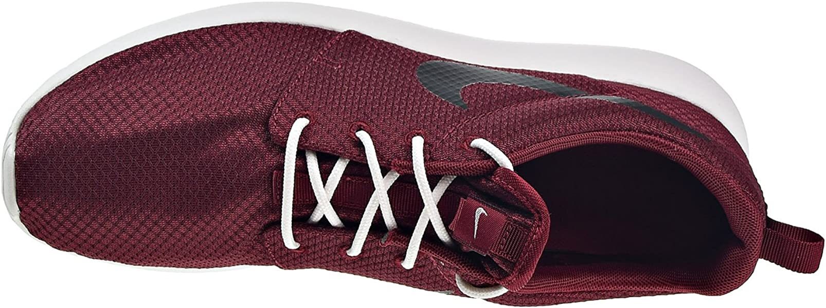 b76b201fbdc NIKE Roshe One Mens Shoes Team Red Black Summit White 511881-607 (12 ...