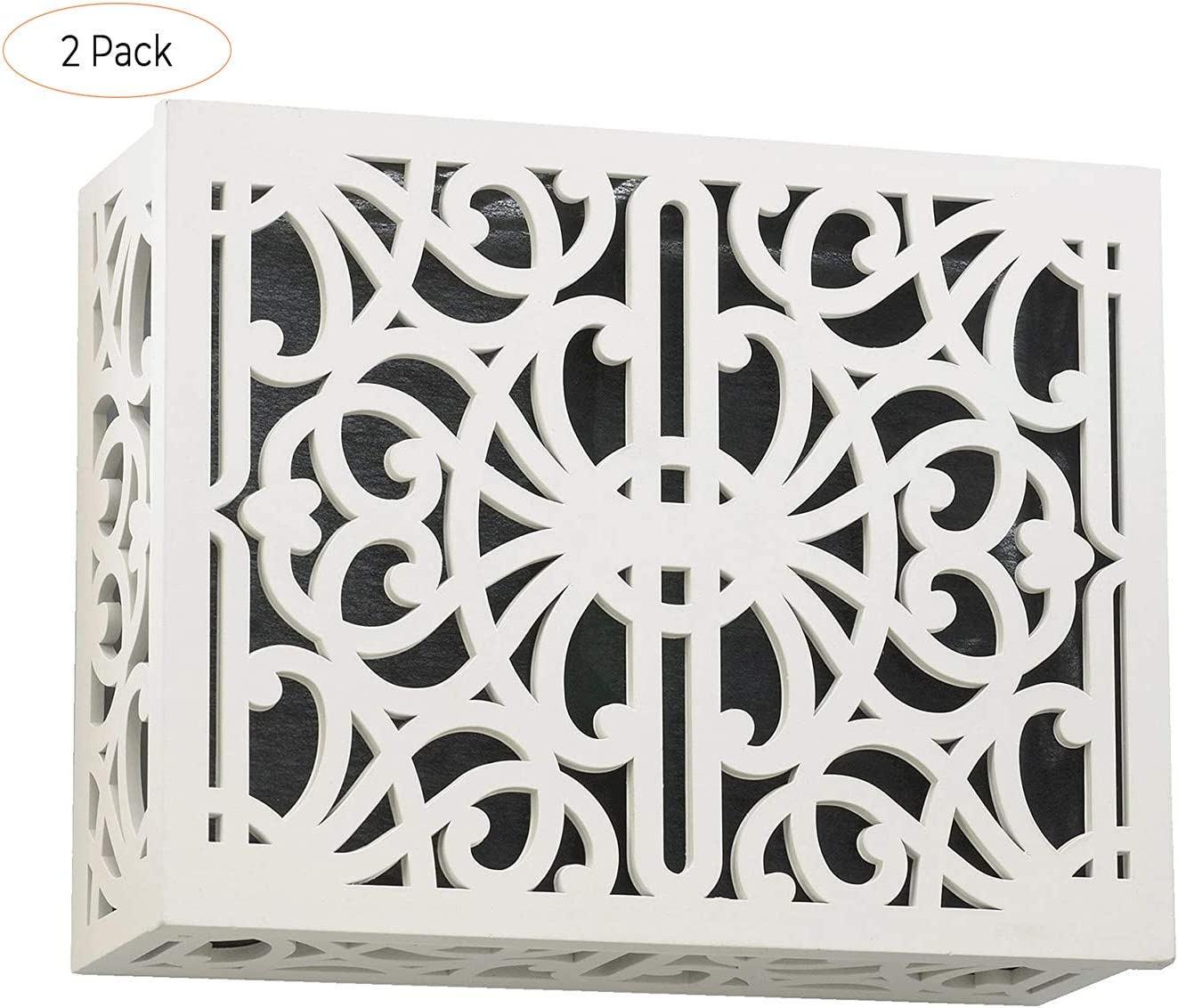 Quorum 7-115-08 Accessory Door Chime Grille Studio White Finish Product ID: 190808037008 Four Pack