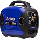 A-iPower SC2000i 2000 Watt Portable Inverter Generator Gas Powered, Small with Super Quiet Operation, Powered by Yamaha Engin