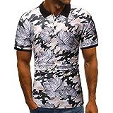Men's Short Sleeve Xlala Fashi...